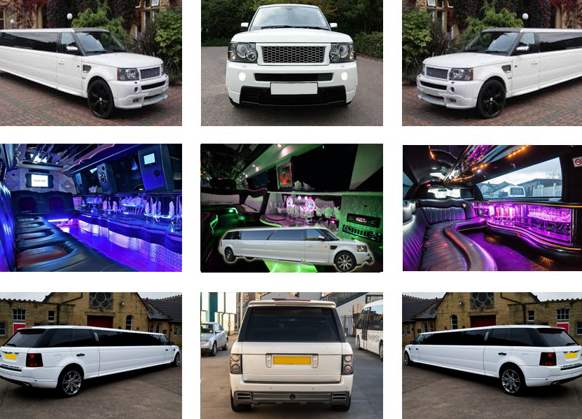Range Rover Limo Hire Sheffiled